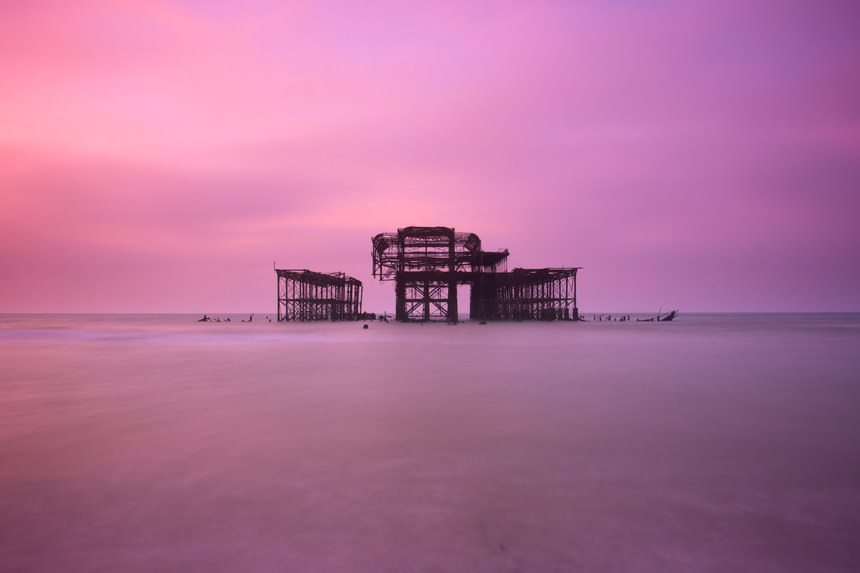 Eerie Pier