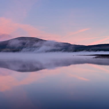 Clatteringshaws at dawn